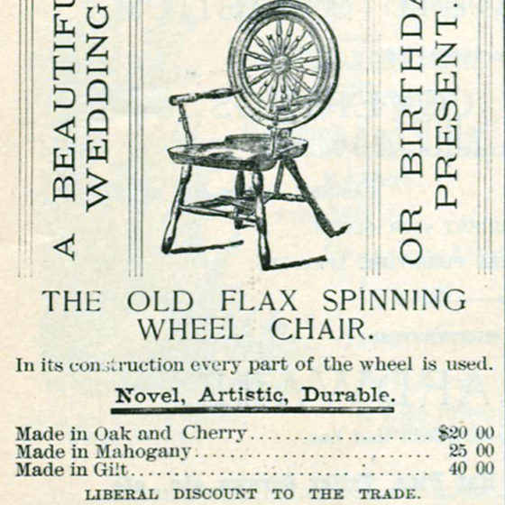 William B. Savage's advertisement, ca. 1886-87