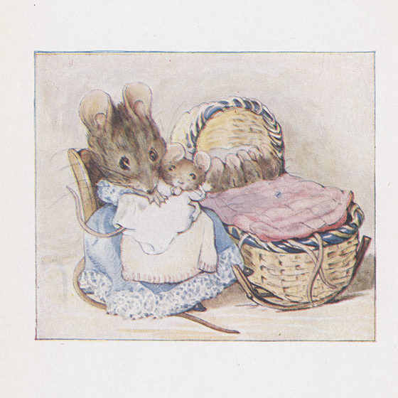 Hunca Munca. From Beatrix Potter, The Tale of Two Bad Mice (1904). Courtesy L. Tom Perry Special Collections, Harold B. Lee Library, Brigham Young University, Provo, Utah