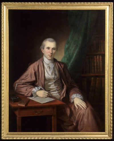 Charles Willson Peale (1741-1827) Philadelphia, Pennsylvania; 1783-86 Oil on canvas Gift of Mrs. Julia B. Henry 1959.160