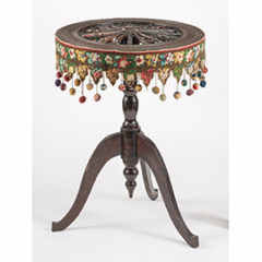 Spinning Wheel Table